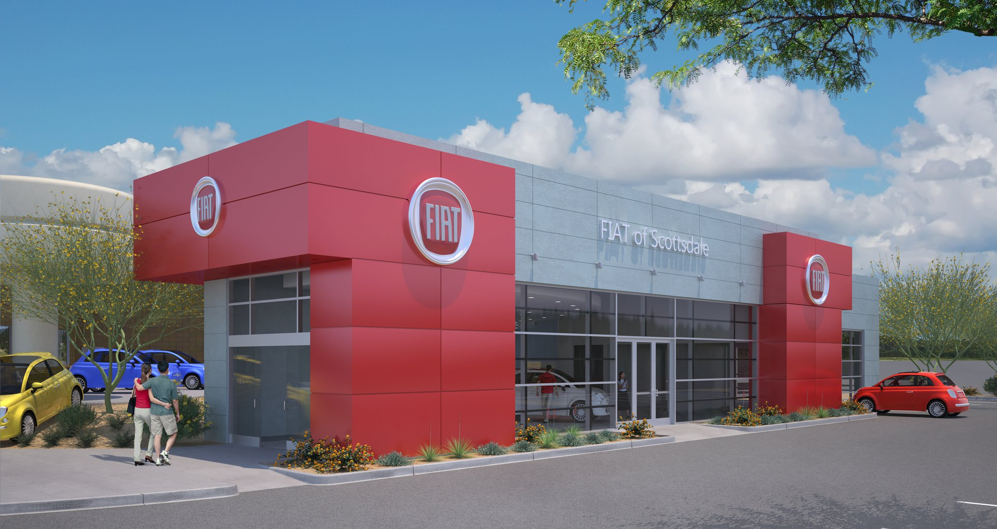 fiat of scottsdale | aaron smithey architectural imaging