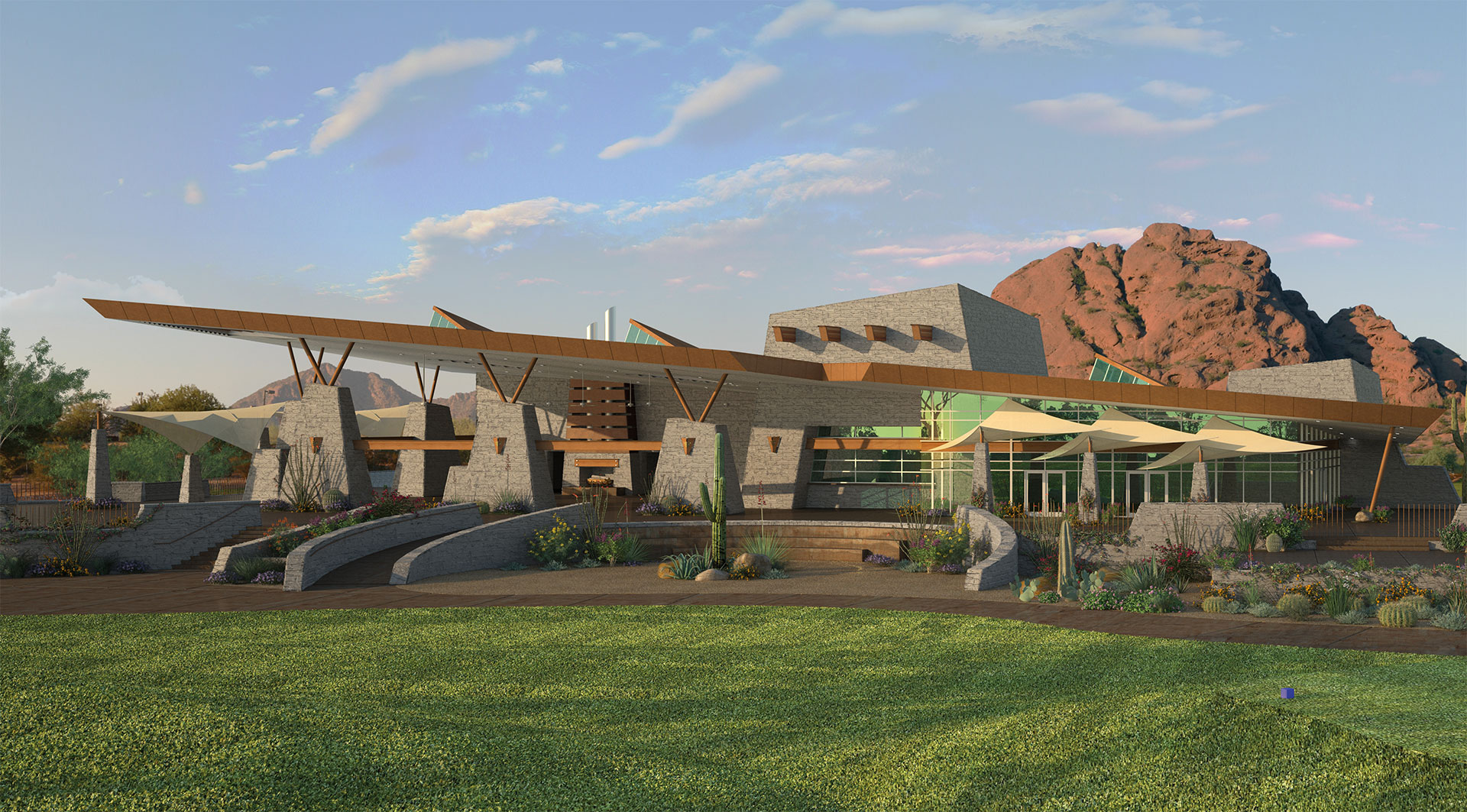 Golf Clubhouse Aaron Smithey Architectural Imaging